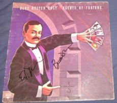 Blue Oyster Cult Hard Rock Band Signed 1976 Agents Of Fortune Album Autographed