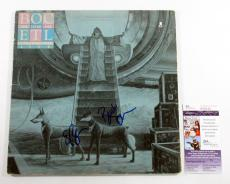Blue Oyster Cult Signed LP Record Album Extraterrestrial Live w/ 2 JSA AUTOS