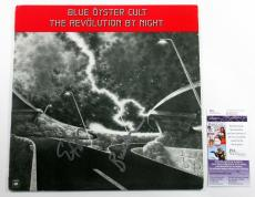 Blue Oyster Cult Signed LP Record Album The Revolution by Night w/ 2 JSA AUTOS