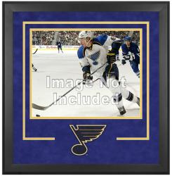 "St. Louis Blues Deluxe 16"" x 20"" Horizontal Photograph Frame"