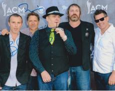 Blues Traveler Band Signed Autographed 8x10 Photo John Popper COA B