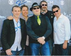 Blues Traveler Band Signed Autographed 8x10 Photo John Popper COA D