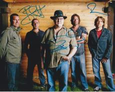 Blues Traveler Band Signed Autographed 8x10 Photo John Popper COA E