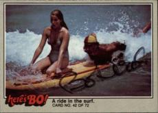 Bo Derek  Actress Tarzan 10  Signed Trading Card 1981 Heres Bo! #42 Id #32245