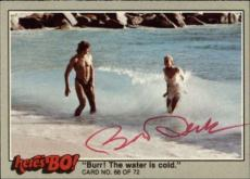 Bo Derek  Actress Tarzan 10  Signed Trading Card 1981 Heres Bo! #68 Id #32252