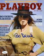 Bo Derek Signed Jsa Certed 8x10 Playboy Cover Authentic Autograph