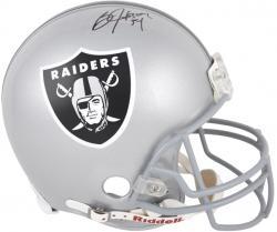 Oakland Raiders Bo Jackson Autographed Pro-Line Riddell Authentic Helmet
