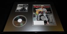 Bob Dylan 16x20 Framed 2014 Rolling Stone Magazine & Times Are A Changin CD Set