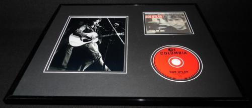 Bob Dylan 16x20 Framed Love & Theft CD & Photo Display
