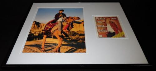 Tom Petty 16x20 Framed Rolling Stone Cover Display