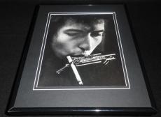 Bob Dylan 1991 Framed 11x14 Photo Display