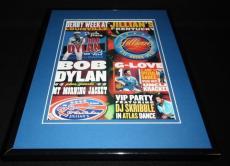 Bob Dylan 2003 Louisville Concert Framed 11x14 ORIGINAL Vintage Advertisement