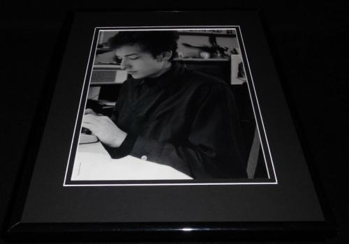 Bob Dylan at Greenwich Village Apartment Framed 11x14 Photo Display