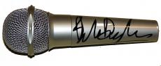 Bob Dylan Autographed Facsimile Signed Microphone