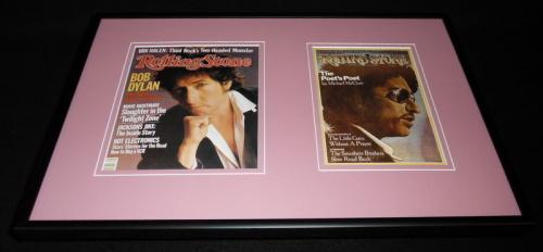 Bob Dylan Framed 12x18 Rolling Stone Cover Display