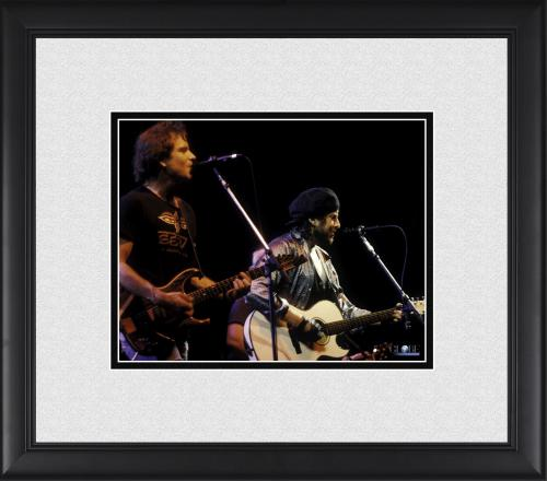 """Bob Dylan Framed 8"""" x 10"""" Performing with The Grateful Dead Photograph"""