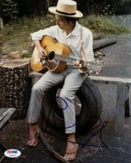 Bob Dylan Signed 8X10 Photo Autograph Graded Gem Mint 10! PSA #V09672