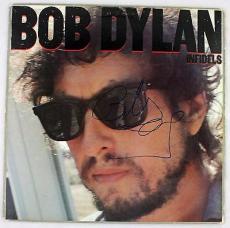 "Bob Dylan Signed Autographed Album ""Infidels"" PSA/DNA LOA"