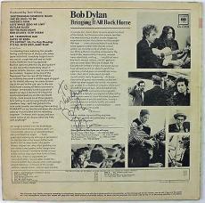 Bob Dylan Signed Autographed Album Record Vinyl Graded 9 MINT PSA/DNA