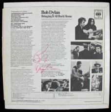 """Bob Dylan Signed Near-Mint """"Bringing It All Back Home"""" Album PSA/DNA"""