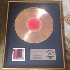 Bob Dylan Street Legal Riaa Gold Record Sales Award Columbia Records Framed Rare