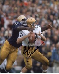 Bob Griese Purdue Boilermakers Autographed 8'' x 10'' Photograph - Mounted Memories