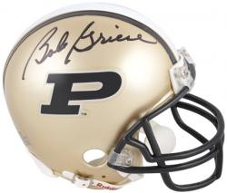 Bob Griese Purdue Boilermakers Autographed Mini Helmet - Mounted Memories
