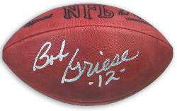 Bob Griese Autographed Ball - Mounted Memories