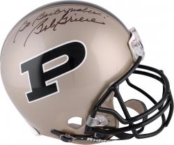 "Bob Griese Purdue Boilermakers Autographed Riddell Pro-Line Helmet with ""Go Boilermakers"" Inscription"