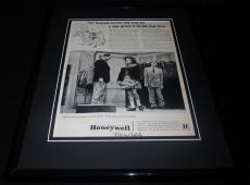 Bob Hope 1951 Honeywell Controls Framed 11x14 ORIGINAL Vintage Advertisement