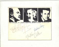 Bob Hope and Others Signed Autographed Auto Program PSA DNA S10967