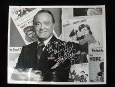 "Bob Hope Autographed 8"" x 10"" Black & White Photograph - B&E Hologram"