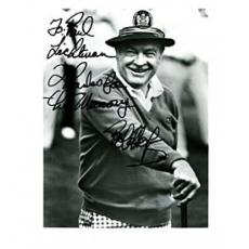 Bob Hope Autographed Black & White 8x10 Photo