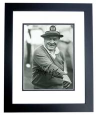 Bob Hope Signed - Autographed B+W 8x10 inch Photo - Deceased 2003 - BLACK CUSTOM FRAME - Guaranteed to pass PSA or JSA