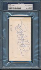 Bob Hope Cut Signature PSA/DNA Certified Authentic Auto Autograph Signed *4324
