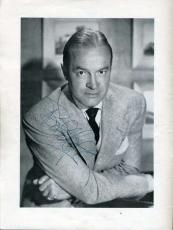 Bob Hope Edie Adams Jsa Signed Theatre Program Authentic Autograph