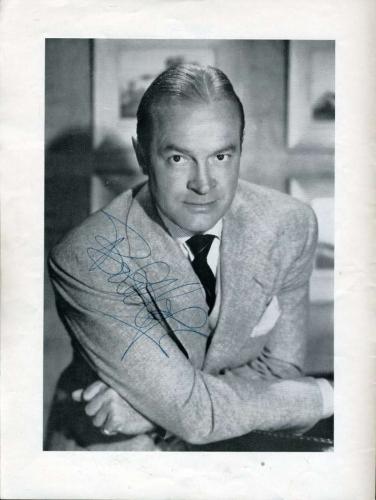 Bob Hope Edie Adams Jsa Signed Theatre Program Authentic Autograph