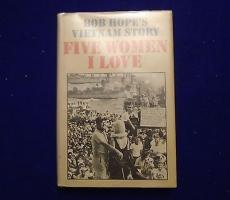 "Bob Hope ""five Women I Love"" Signed Autographed Hardcover Book -jsa Cert #k94229"