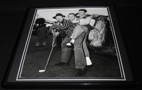 Bob Hope Frank Sinatra Bing Crosby 1944 Framed 12x12 Photo Poster