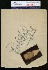 Bob Hope Jsa Hand Signed Album Page Authentic Autograph