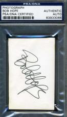 Bob Hope Psa/dna Coa Signed Ww2 Photo Authentic Autograph