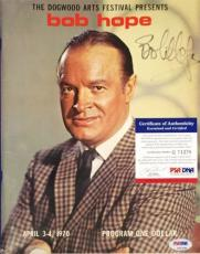 Bob Hope Signed 1970 Dogwood Arts Festival Program/Magazine PSA