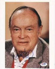 Bob Hope Signed 8x10 Photo Autographed Psa/dna #u70139