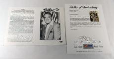 Bob Hope Signed 8x10 Tribute Photo Card  PSA/DNA Auto