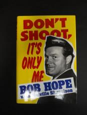 Bob Hope Signed Don't Shoot It's Only Me Book Autograph Auto PSA/DNA AA06261