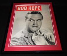 Bob Hope Signed Framed 1951 Magazine Cover Display