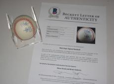 BOB HOPE Signed Official American League Baseball w/ Beckett LOA