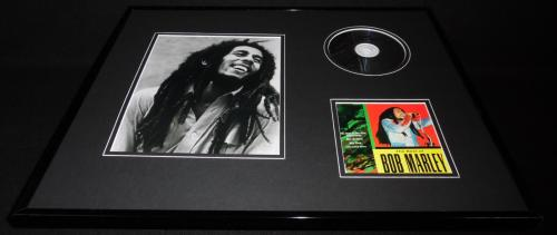 Bob Marley 16x20 Framed Best Of CD & Photo Display
