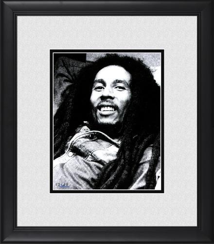 "Bob Marley Framed 8"" x 10"" Photograph"