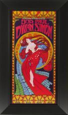 Bob Masse - Bob Dylan & Paul Simon 1999 Concert Poster F
